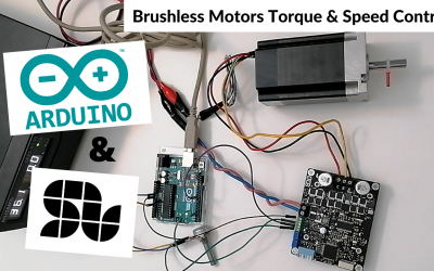 How to control speed or torque of your Brushless Motor with Arduino using SOLO (closed-loop)