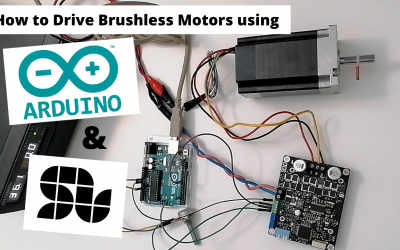 The Simplest way to Drive Brushless motor with ARDUINO using SOLO (Open-loop)
