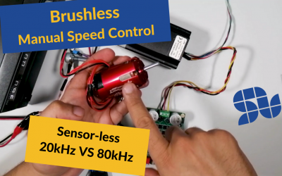 How to control the speed of a Brushless motor Manually using SOLO in Closed-loop sensorless mode |FOC|BLDC|Sensorless|Standalone