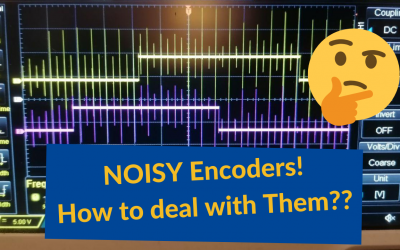 How to manage Noisy Encoders or Hall sensors? How does SOLO actively Filter the noise?