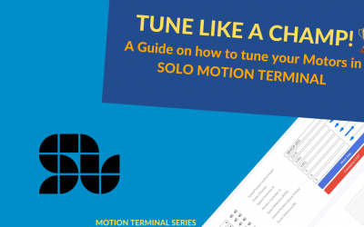 How to Setup and Tune your Motors using SOLO Motion Terminal Like a Champ! (Closed-loop Guide)