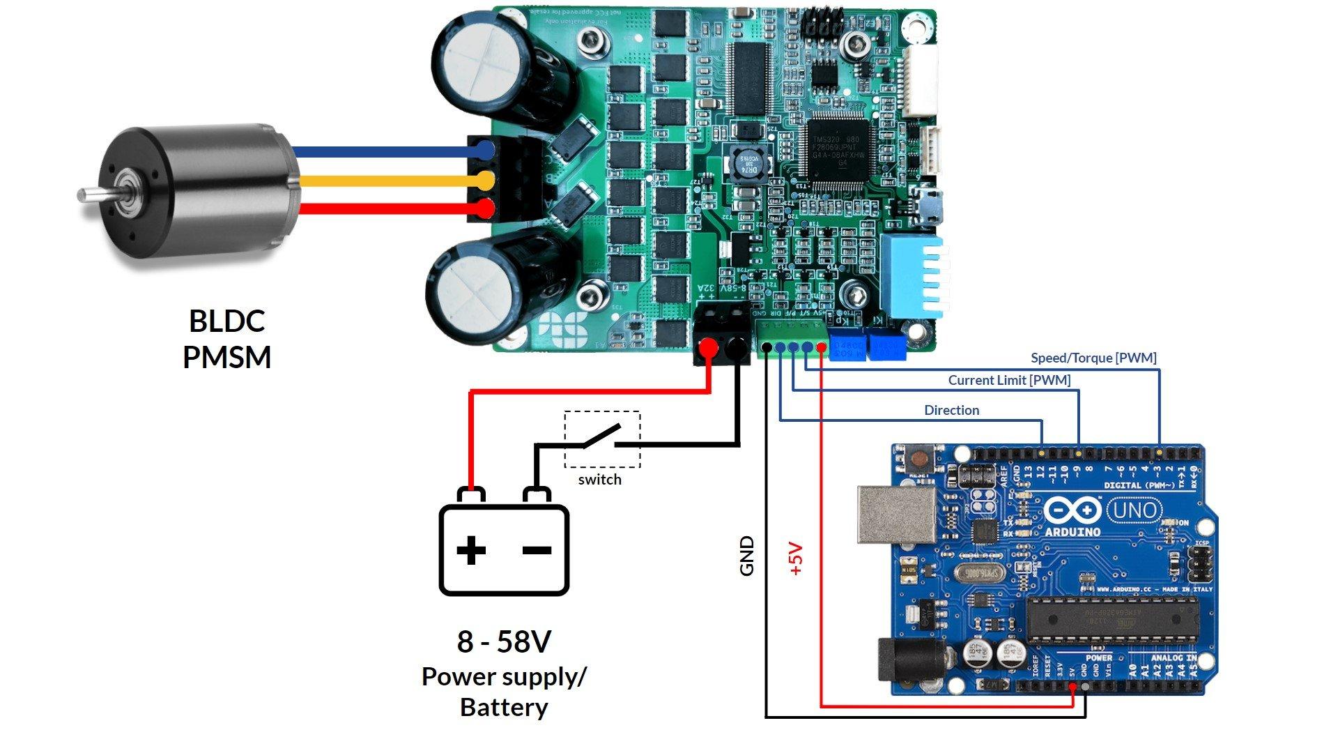 Essential arduino wiring