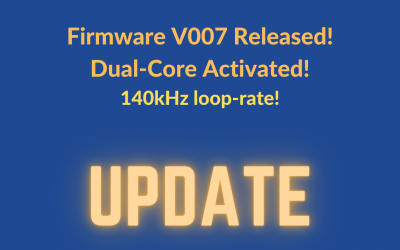 Firmware V007 is Released [Dual Core activated!]