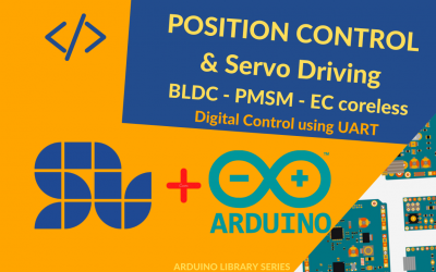 Position control of a Brushless Motor with Arduino and SOLO [+ Arduino Code]