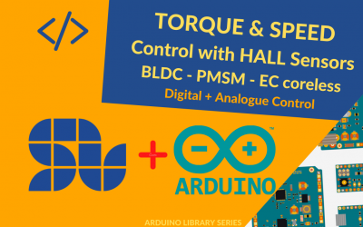 Speed and Torque Control of a Brushless Motor with Hall sensors using Arduino and SOLO [+ Arduino Code]