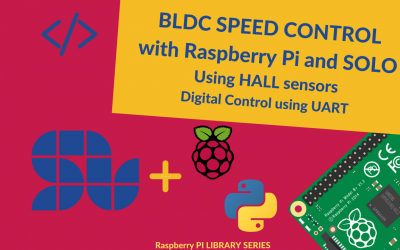 Speed Controlling of BLDC with Raspberry Pi and SOLO using HALL Sensors [+ Code]